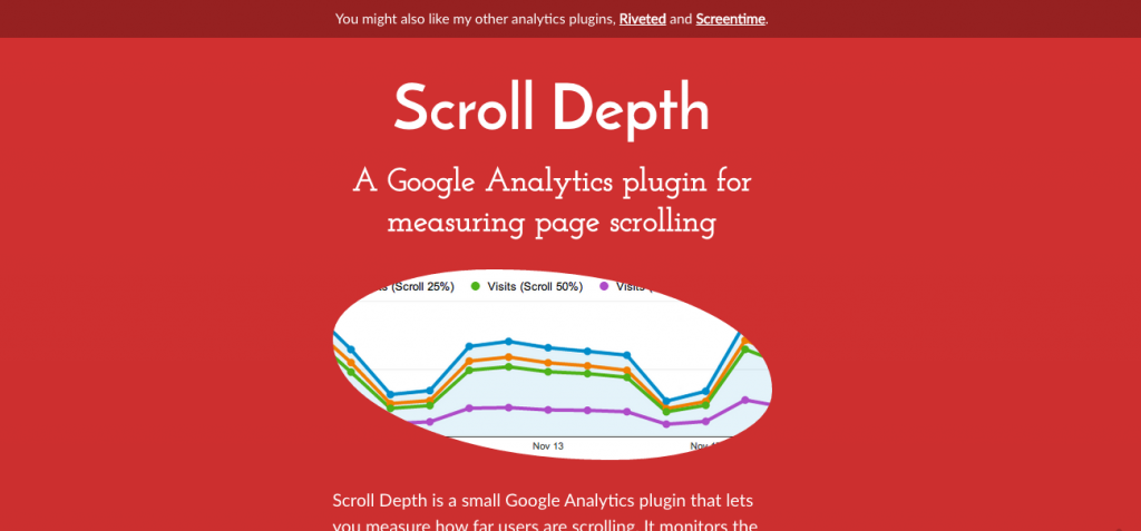 scroll depth as a metric for your site